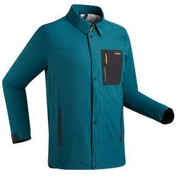 Camisa manga larga de Nieve y Snowboard, Wed'ze Snb CJKT, Perlante, Hombre, Azul