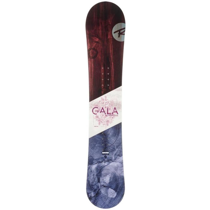 Planche de snowboard all mountain, femme, Gala