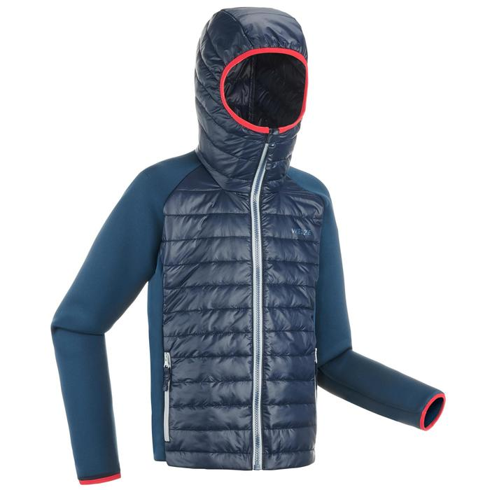 JR Skiing 3-in-1 Jacket Freeride 900 - Grey Blue