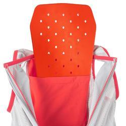 滑雪吊帶褲Freeride 900含內建式護背Bib Protect - 粉紅色