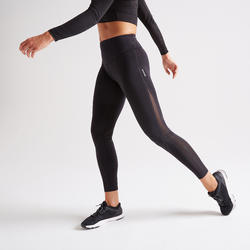 900 Women's Fitness Cardio Training Leggings - Black