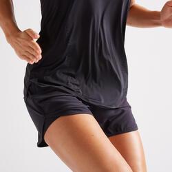 Short cardio fitness femme noir 900