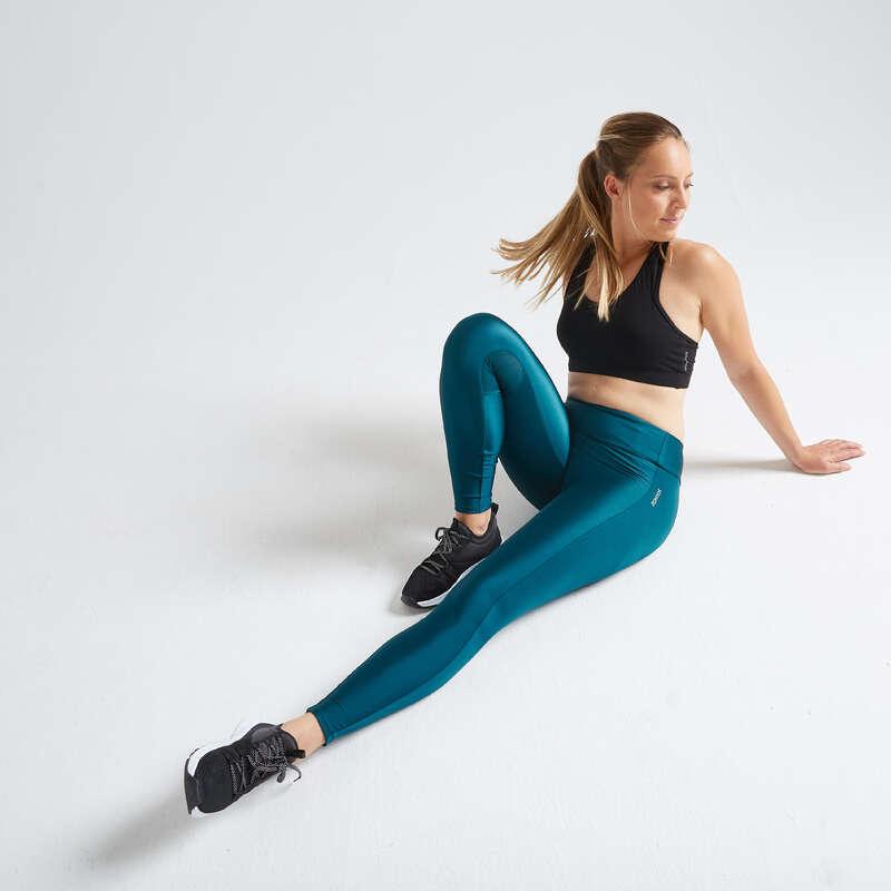 WOMAN FITNESS ENERGY APPAREL - FTI 120 Leggings - Blue DOMYOS