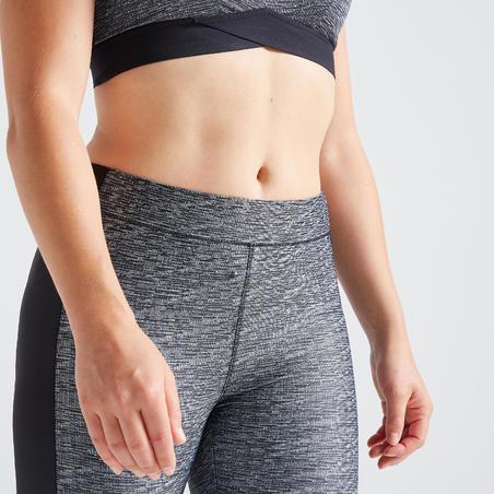 Legging Fitness avec poche téléphone gris chiné