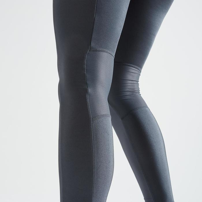 Legging fitness cardio training femme gris 120