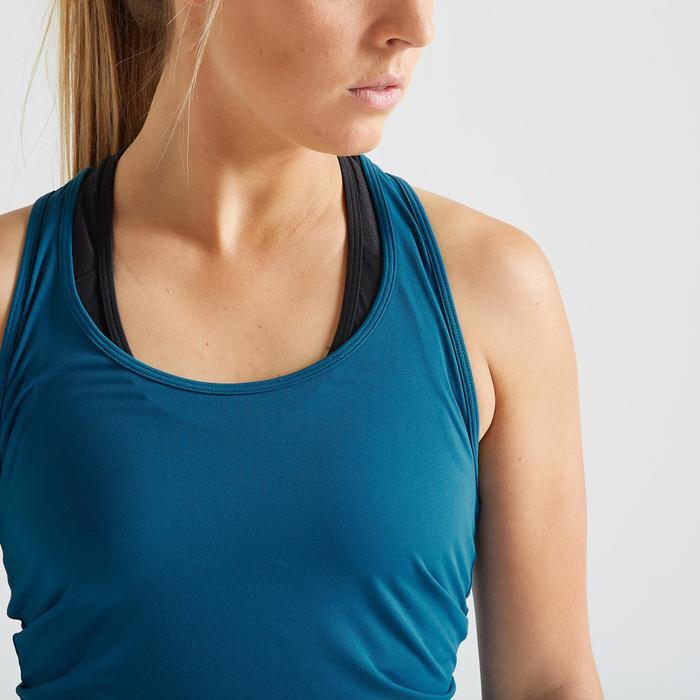 Top fitness cardiotraining dames 100 blauw
