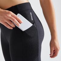 Legging Fitness avec poche téléphone noir