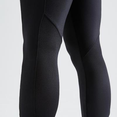 Fitness Leggings with Phone Pocket - Black