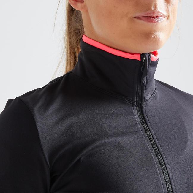 Women's Quick-Dry Fitness Sports Jacket - Black