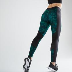 Leggings FTI 120 Fitness Cardio Damen mit Grafikprint