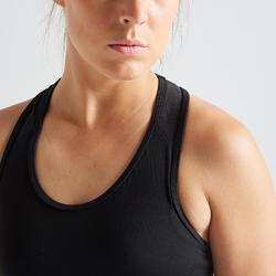 Sport bh fitness 100, zwart
