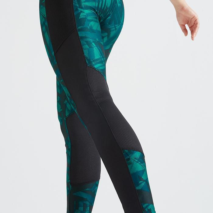 Legging fitness cardio training femme imprimé graphique 120