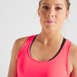 100 Women's Fitness Cardio Training Tank Top – Pink