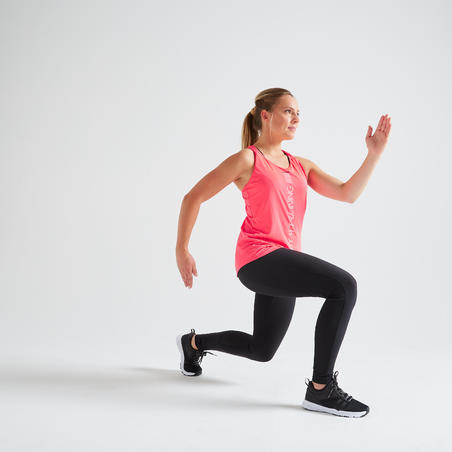 Débardeur entraînement cardio femme rose 120