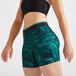 Short fitness cardio training femme imprimé graphique 100