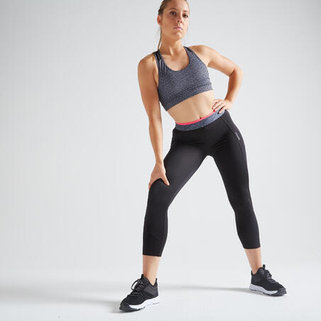 Fitness Short Leggings - Black