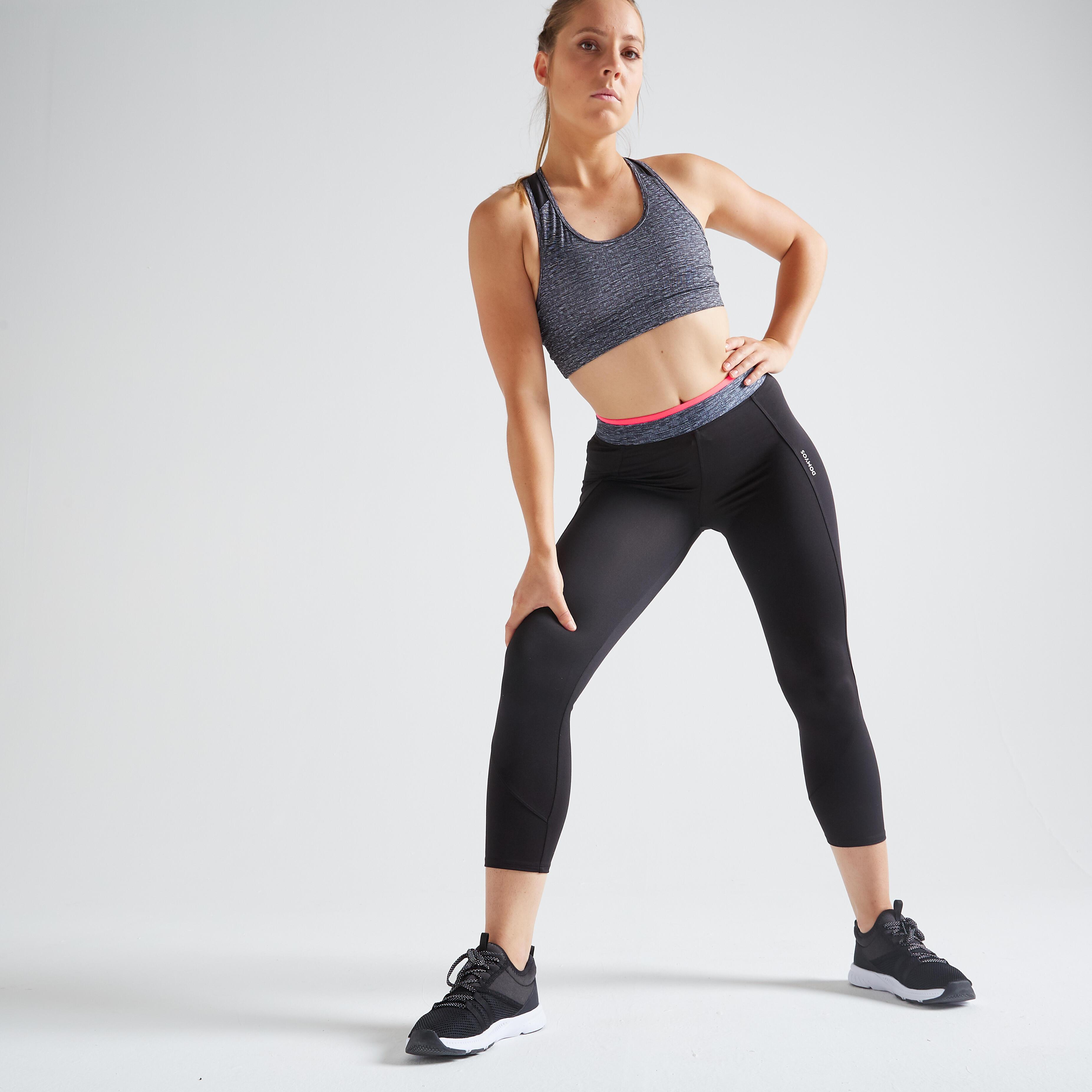vente énorme le meilleur couleurs délicates Leggings de fitness femme | DECATHLON