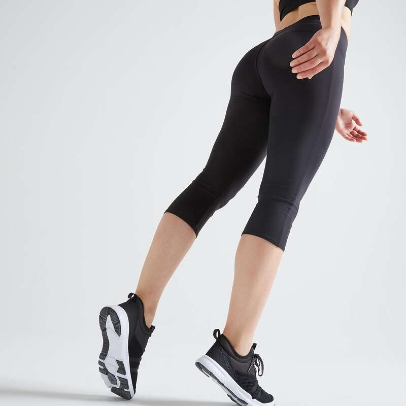 WOMAN FITNESS ENERGY APPAREL - FCA100 Cropped Bottoms - Black