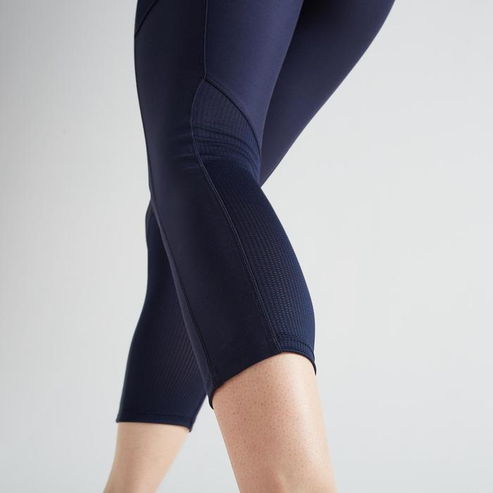 Leggings 7/8 FLE 120 Fitness Cardio Damen marineblau