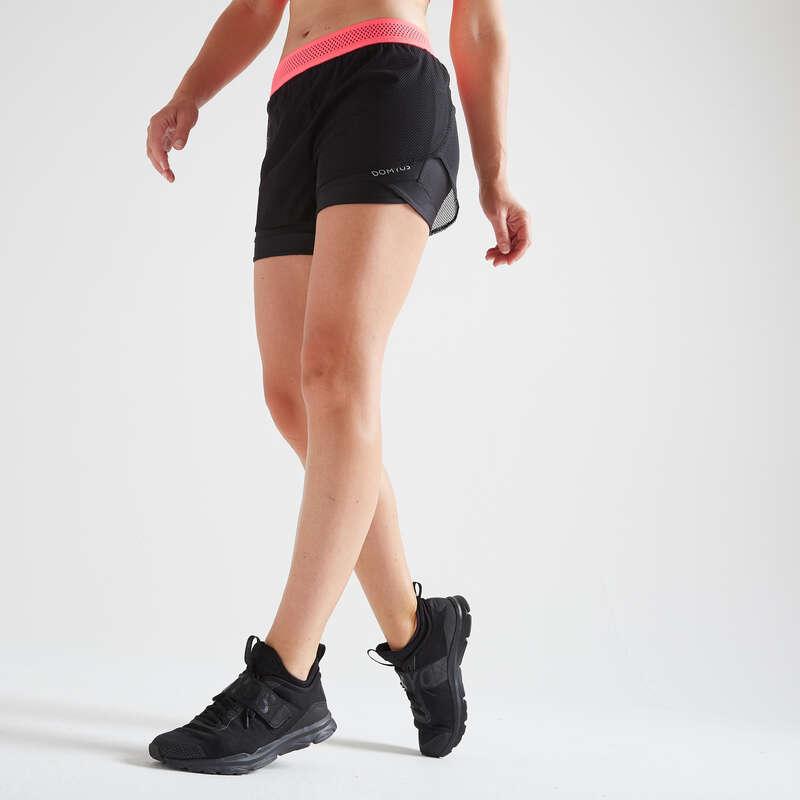 FITNESS CARDIO CONFIRMED WOMAN CLOTHING - FST 520 Shorts - Black DOMYOS