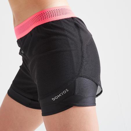 520 Women's Cardio Fitness Shorts - Black