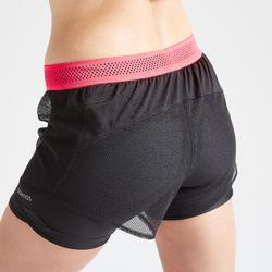 Short entraînement cardio femme noir 520