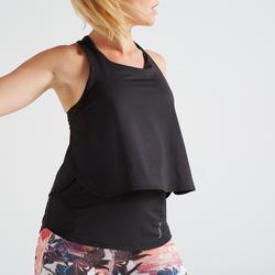 Top 3-in-1 520 Fitness Cardio Damen schwarz