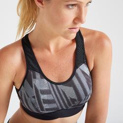 Sport bh fitness 500, grafische print