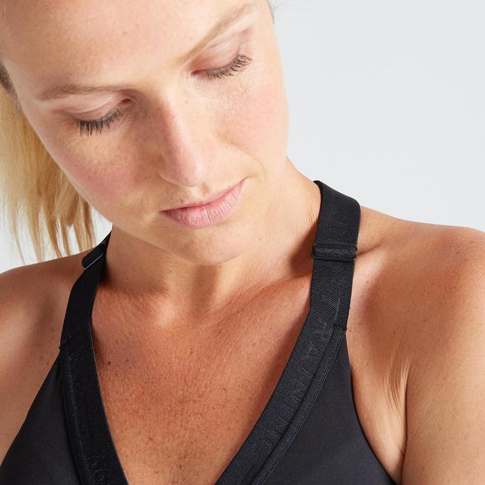 Sport-BH FBRA 500 Fitness Cardio Damen schwarz