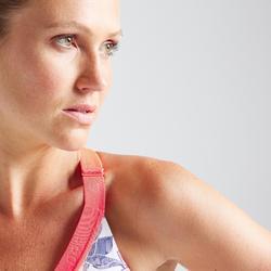 Sport bh fitness 500, bloemenprint