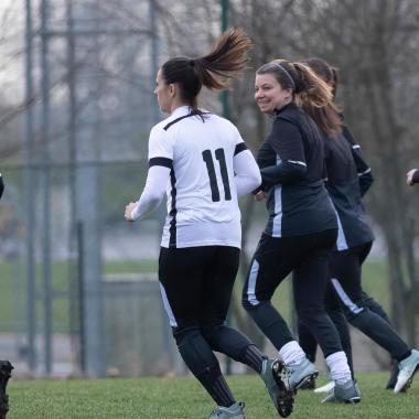 Jouer au foot quand il fait froid