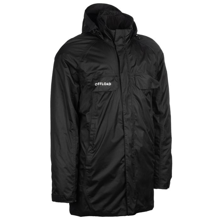 Parka 3/4 Rugby Offload R500 adulto negro