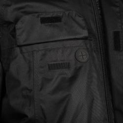 PARKA LONGUE CLUB COACH RUGBY R500 ADULTE Noir