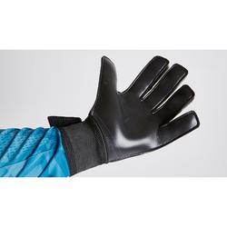 F100 Resist Kids' Football Goalkeeper Gloves - Black/Yellow