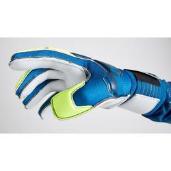 Gant de gardien de football enfant F500 SHIELDER bleu jaune