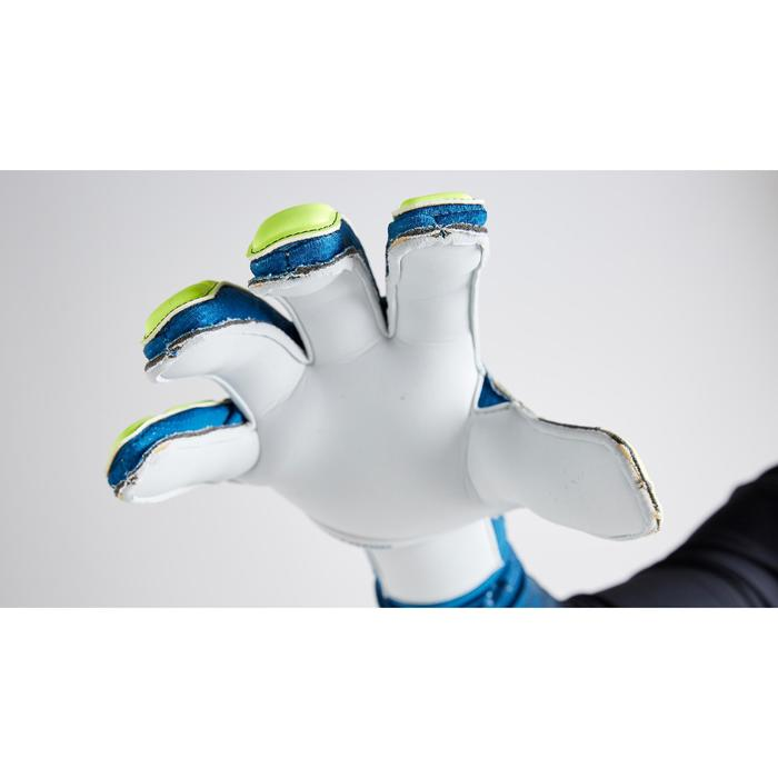F500 Shielder Kids' Football Goalkeeper Gloves - Blue/Yellow