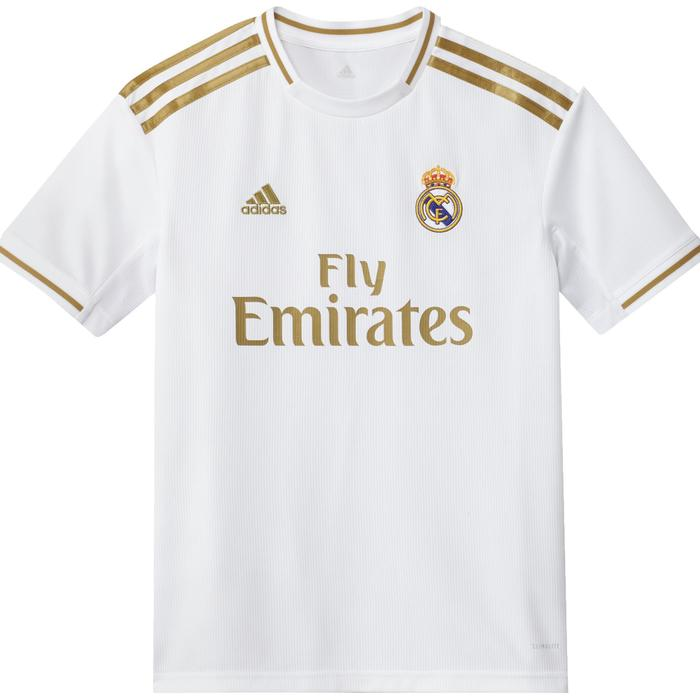 Voetbalshirt Real Madrid thuisshirt 19/20 wit