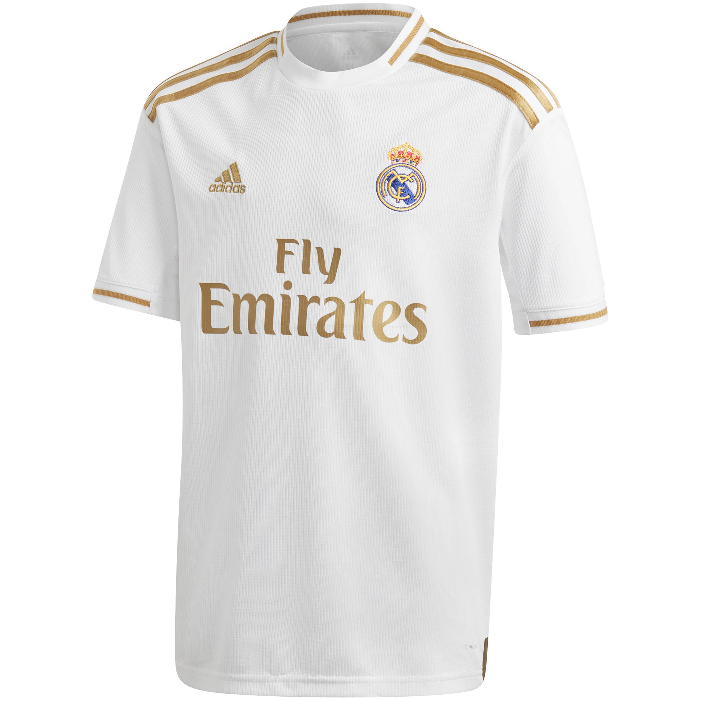 comprar auténtico apariencia estética recogido Camiseta Real Madrid 19/20 local niños Adidas | Decathlon