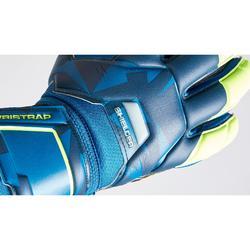 Keepershandschoenen voetbal kinderen F500 Shielder blauw/geel