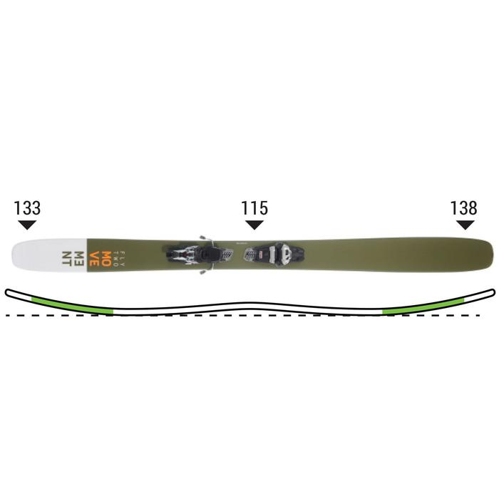 Ski Freeride Freestyle Backcountry Movement Fly two 115