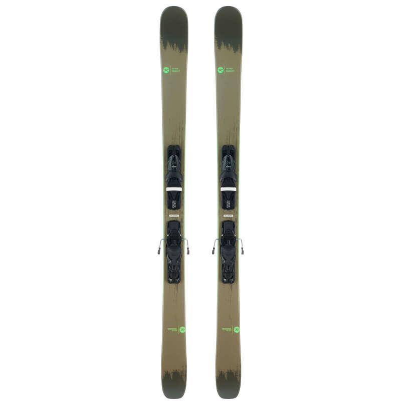 PÁNSKÉ LYŽE NA FREERIDE Lyžování a snowboarding - PÁNSKÉ FREERIDE LYŽE SMASH 7 ROSSIGNOL - Lyžařské vybavení