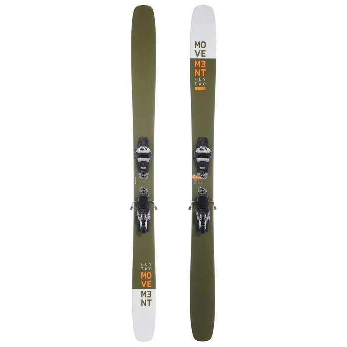 Set backcountry-ski's voor freeride/freestyle Fly two 115