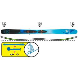 Ski Freeride Movement Go 100 Ti + King Pin Demo 13 + Felle
