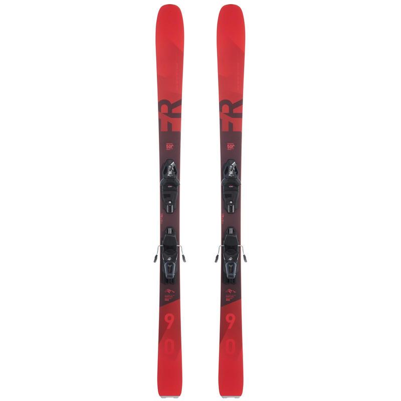 FR500 Freeride Skiing Pack Red - Women's
