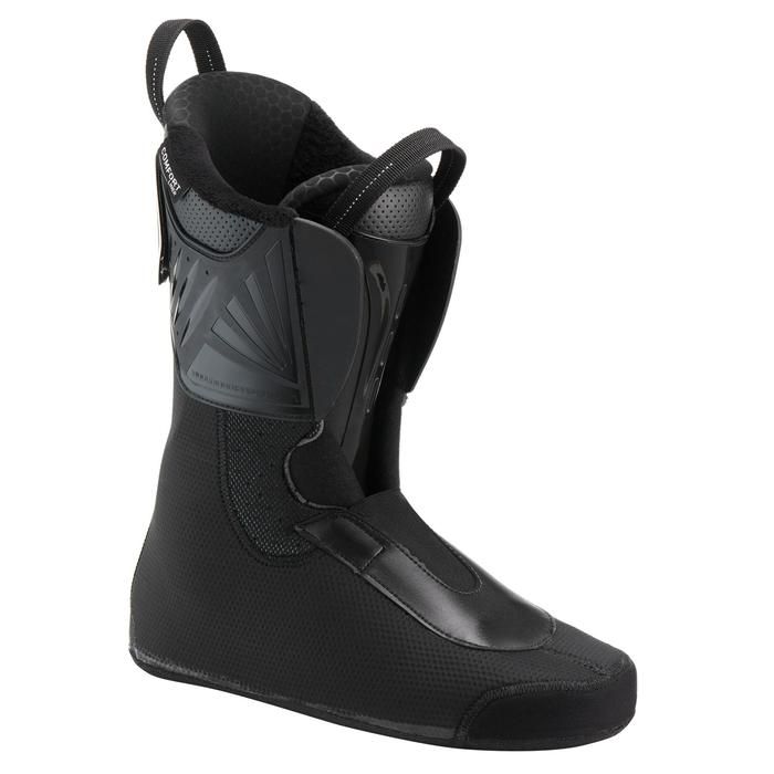 Skischoenen voor freeride voor volwassenen FR900 flex 120 zwart/bordeaux