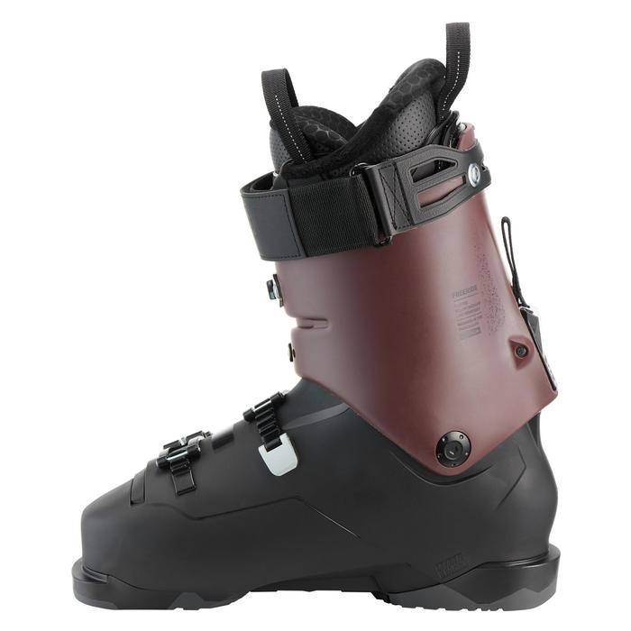 Botas Esquí Wedze FR900 Hombre Flex 120 Negro Burdeos