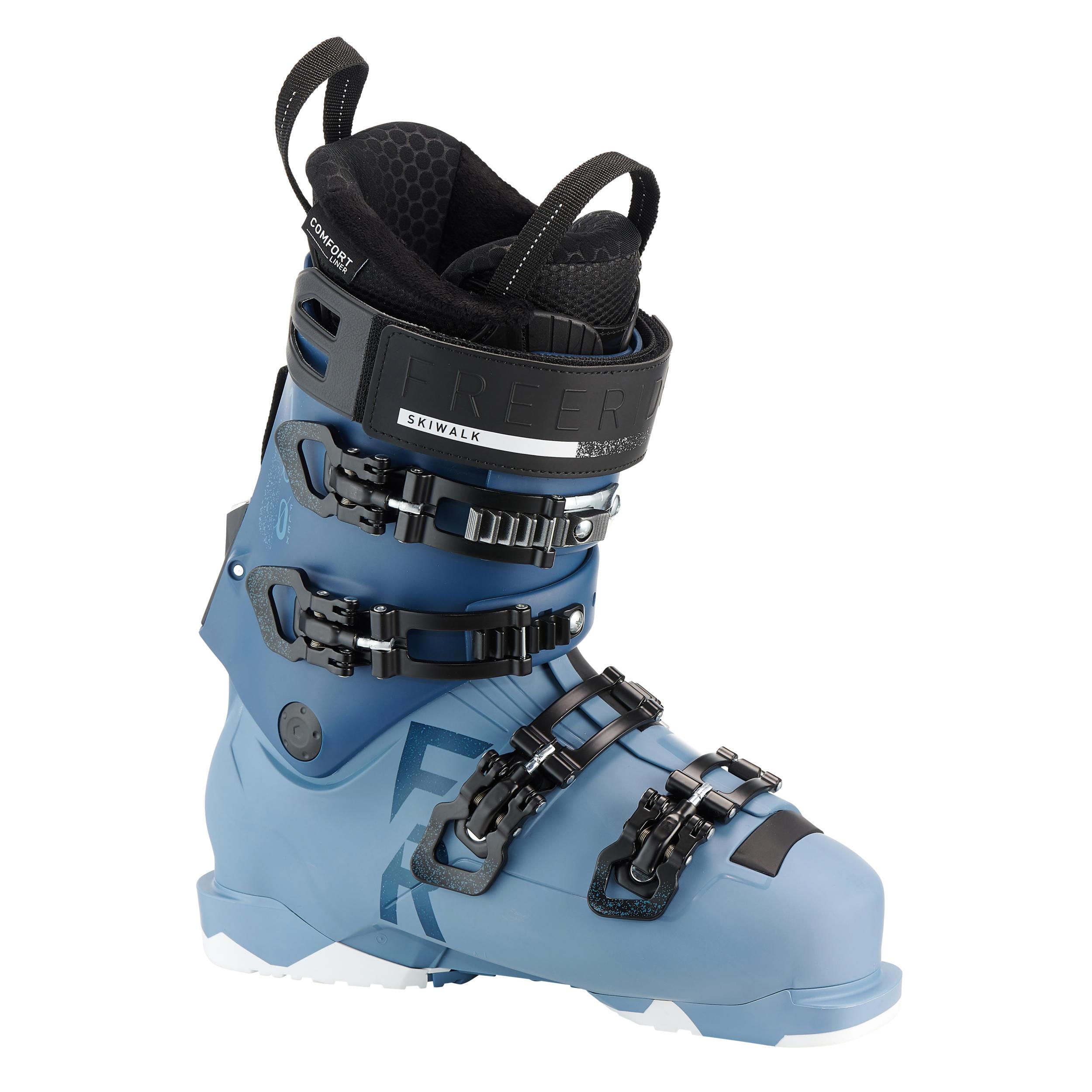 Chaussures de ski freeride femmes wedze fr 900 flex100 bleu wedze