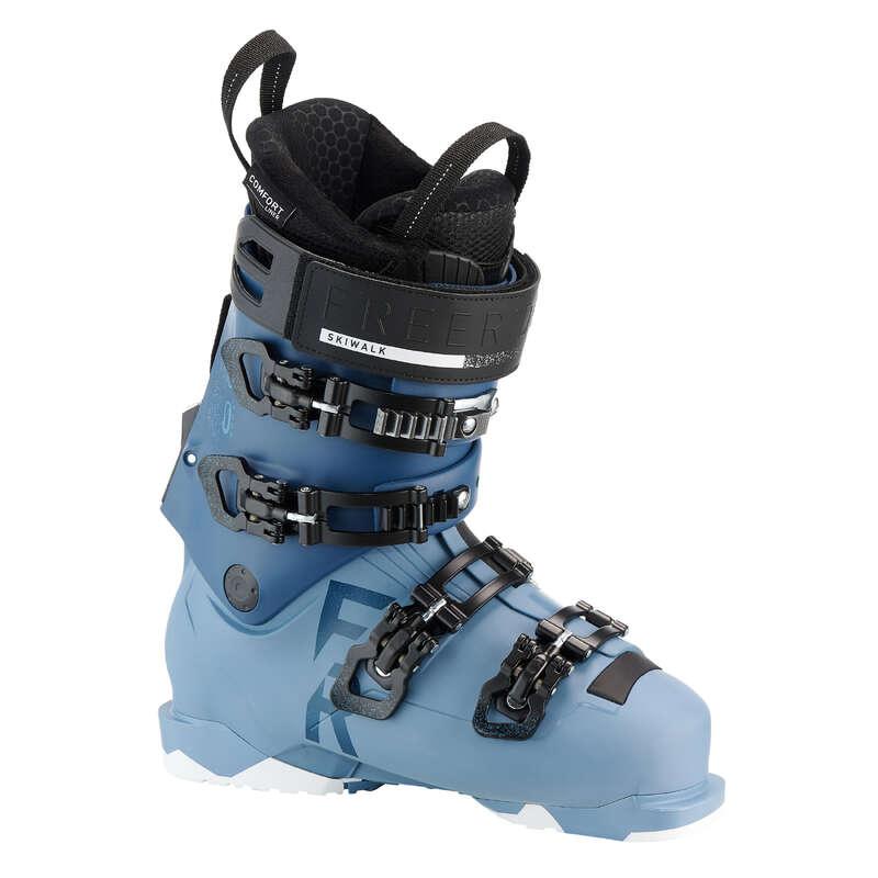WOMAN'S FREERIDE SKI BOOTS - W SKB SKI Flex100 FR900 WEDZE