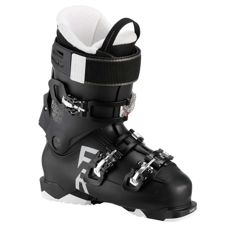 WOMAN'S FREERIDE SKI BOOTS Skiing - Ski SKB FR100 Flex80 WEDZE - Ski Equipment