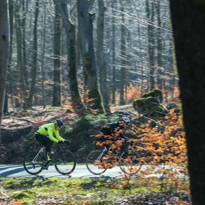Comment  s'équiper pour rouler en vélo route l'hiver